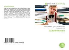 Couverture de Autoformation