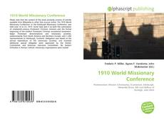 Bookcover of 1910 World Missionary Conference