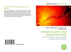Bookcover of Filmfare Award for Best Supporting Actress