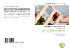 Couverture de Test Cricket Hat-Tricks
