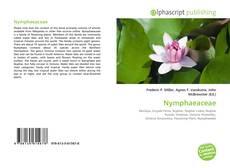 Buchcover von Nymphaeaceae