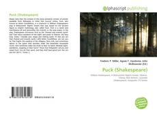 Bookcover of Puck (Shakespeare)