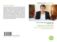 Bookcover of Antonio Lombardo