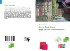 Bookcover of Great Fransham