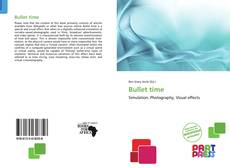 Bookcover of Bullet time