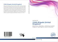Bookcover of 234th Brigade (United Kingdom)