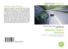 Couverture de Alexandru Tzigara-Samurcaş