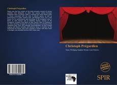 Christoph Prégardien kitap kapağı
