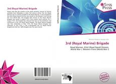 Bookcover of 3rd (Royal Marine) Brigade