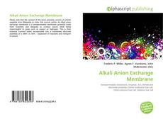 Buchcover von Alkali Anion Exchange Membrane