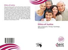 Bookcover of Ethics of Justice