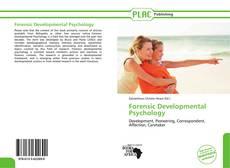 Bookcover of Forensic Developmental Psychology