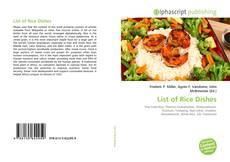 Couverture de List of Rice Dishes