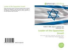 Portada del libro de Leader of the Opposition (Israel)
