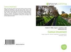 Camus (musician) kitap kapağı