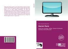 Copertina di Aaron Karo