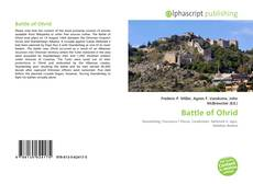 Couverture de Battle of Ohrid