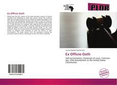 Bookcover of Ex Officio Oath