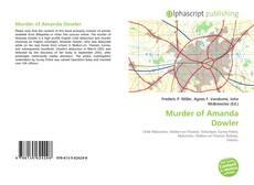 Bookcover of Murder of Amanda Dowler