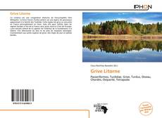 Bookcover of Grive Litorne