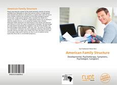 Обложка American Family Structure
