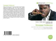 Bookcover of Giuseppe Calderone