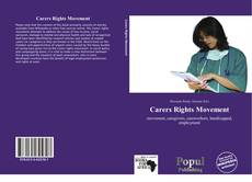 Bookcover of Carers Rights Movement