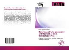 Buchcover von Belarusian State University of Informatics and Radioelectronics