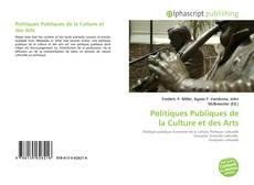 Обложка Politiques Publiques de la Culture et des Arts