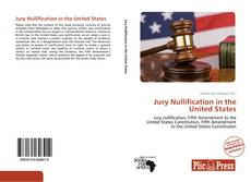 Couverture de Jury Nullification in the United States