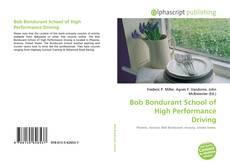 Buchcover von Bob Bondurant School of High Performance Driving