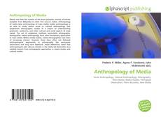 Bookcover of Anthropology of Media