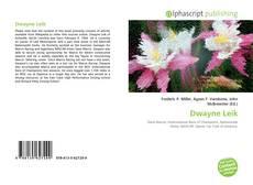 Bookcover of Dwayne Leik