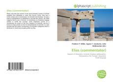 Capa do livro de Elias (commentator)