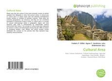 Bookcover of Cultural Area