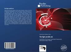 Bookcover of Script.aculo.us