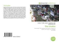 Bookcover of Thai Studies