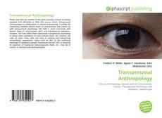 Обложка Transpersonal Anthropology