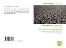 Buchcover von Richard Burton (acteur)