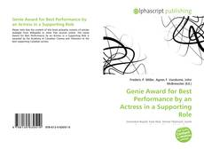 Couverture de Genie Award for Best Performance by an Actress in a Supporting Role