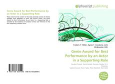 Couverture de Genie Award for Best Performance by an Actor in a Supporting Role