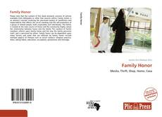 Bookcover of Family Honor