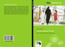 Bookcover of Family Equality Council