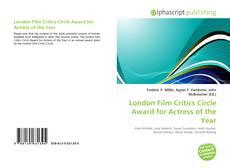 Обложка London Film Critics Circle Award for Actress of the Year