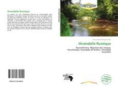 Hirondelle Rustique kitap kapağı