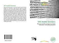 Bookcover of SXC Health Solutions