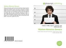 Bookcover of Matteo Messina Denaro