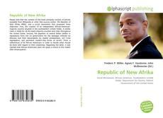 Buchcover von Republic of New Afrika