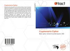 Bookcover of Cryptomeria Cipher