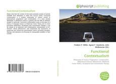 Capa do livro de Functional Contextualism